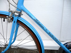Schwinn Suburban Left Side Downtube and Fork