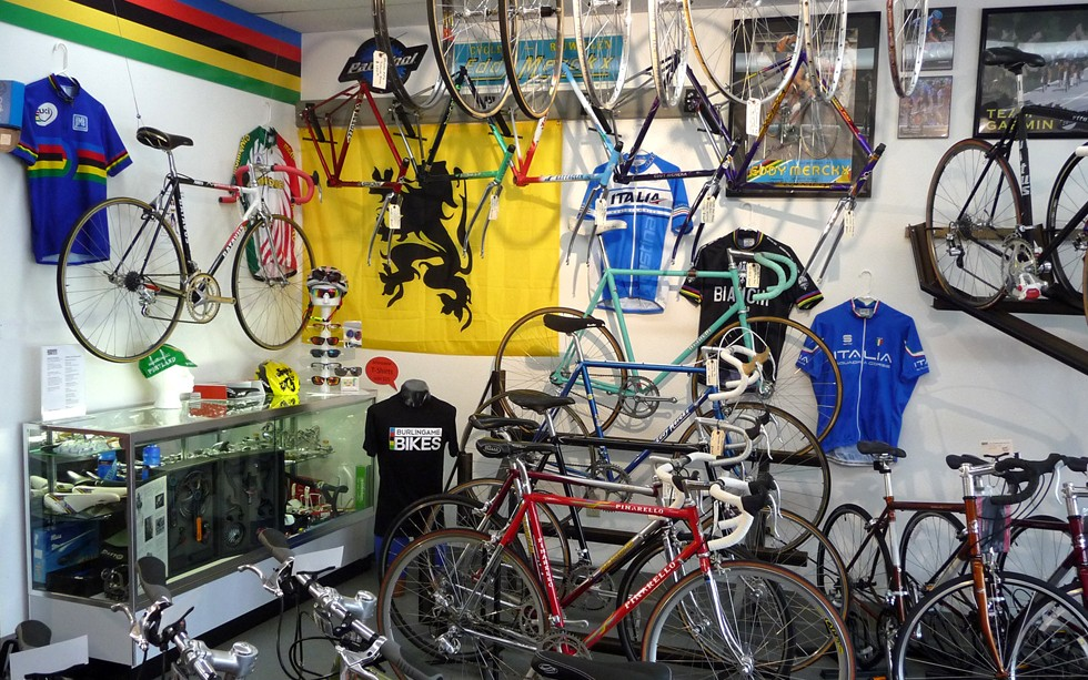 Shop Interior with Classic Bikes 980x630
