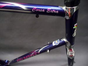 Eddy Merckx Corsa Extra Heat Top and Down Tubes