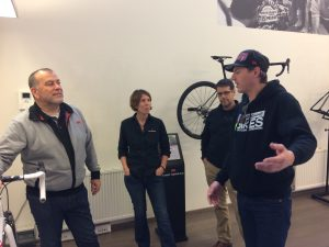 marc-discussing-bike-design-with-emc-ceo-and-staff
